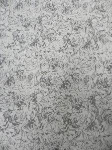 Polyester None Stretch Textured Floral Design