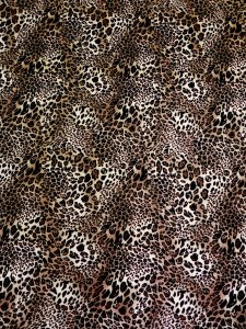 Polyester DTY 2 ways Stretch Light Weight Animal Print Design