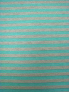 Polyester Rayon Spandex Knit with 5mm Stripes Design
