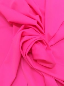 Nylon Solid Spandex 4 ways Stretch Medium Weight Neon Pink