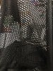 Polyester Spandex 2 ways Stretch See Through 3mm Fishnet Mesh