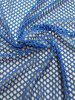 Polyester Spandex Fishnet Diamond Mesh