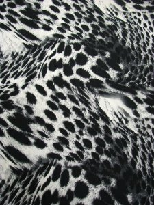 Polyester Dull Charmeuse Animal Design