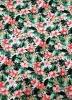Polyester Single Spun 2 ways Stretch Tropical Flowers Design