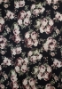 Polyester Spandex 2 ways Stretch Techno Floral Design