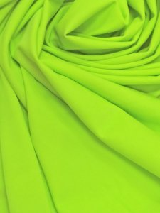 Nylon Solid Spandex 4 ways Stretch Medium Weight Neon Chartreuse
