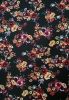Polyester Ity Matte Jersey 2 ways Stretch Light Weight Floral Design