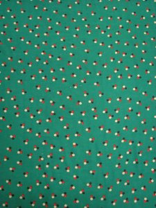 Polyester Chiffon with 7 mm Polka Dots Design