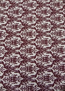 Polyester Fukuro Medium Weight 2 ways Stretch Damask Design