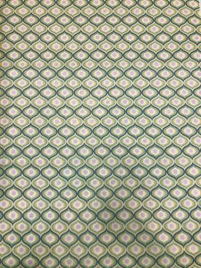 Cotton Fabric None Stretch Geometric Fabric Design