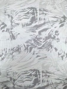 Nylon Spandex Dull Foil Abstract Splash Design