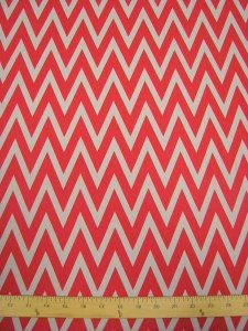 Polyester CDC Chevron Design