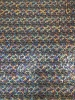 Polyester Spandex 2 ways Stretch Light Weight Shiny Snake Foil Design