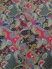 Polyester Spandex ITY Matte Jersey 2 Way Stretch Big Paisley Design