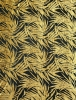 Polyester Spandex 2 ways Stretch Mesh With Burnout Velvet Leaves Design