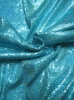Polyester 2 Way Stretch with 3 mm Hologram Sequins