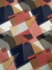 Polyester Spandex ITY Matte Jersey 2 Way Stretch Big Abstract Multi Color Design