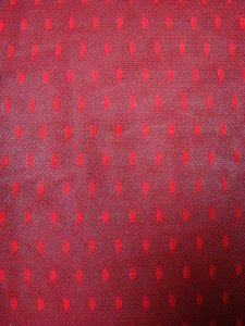 Polyester Mesh with 7mm Oval Dots Design