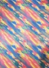Polyester Spandex 2 ways Stretch With Shiny Foil Multi Color Abstract Design