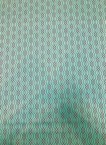 Cotton None Stretch Imperial Trellis Fabric Design