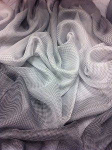 Chiffon Ombre Design See Through Light Weight Fabric