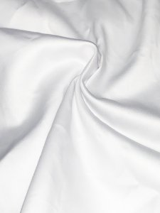 Non-Stretch White Anti Bacterial Soft Fabric