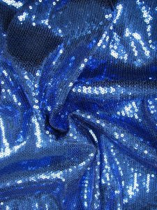 Polyester 2 way Stretch with 3 mm Regular Sequins