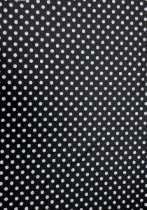 Polyester Ponti De Roma with 20mm Polka Dots 2 ways Stretch