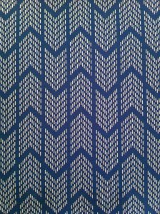 Polyester None Stretch CDC Geometric Print Light Weight Fabric