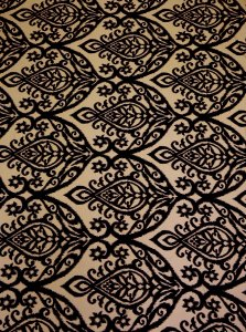 Polyester Bulgari 2 way Stretch Damask Design