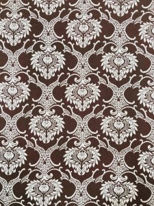 Polyester Bulgari 2 ways Stretch Light Weight Big Damask Design