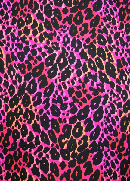 Nylon Spandex Multi Color Neon Animal Print [L-620-I] - $14.99 ...